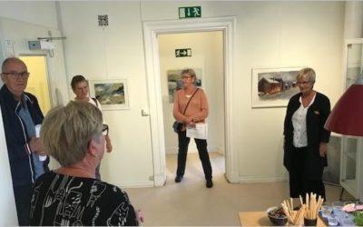 Tina Skiölds vernissage välbesökt