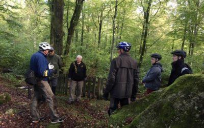 Cykeltur om kulturstenar