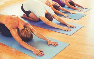 Kursen i yoga ställs in
