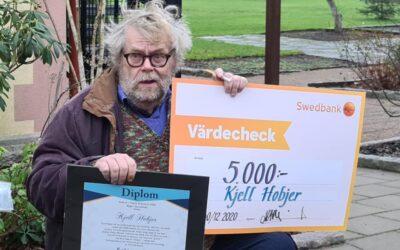 Kulturpris 2020 Bräkne Hoby