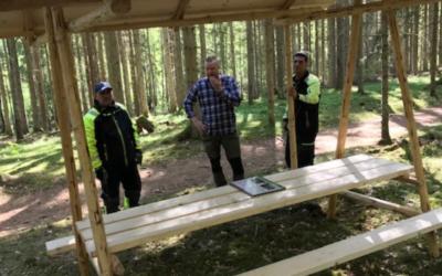 Arbetslaget lägger sista handen vid RonnebySlingor